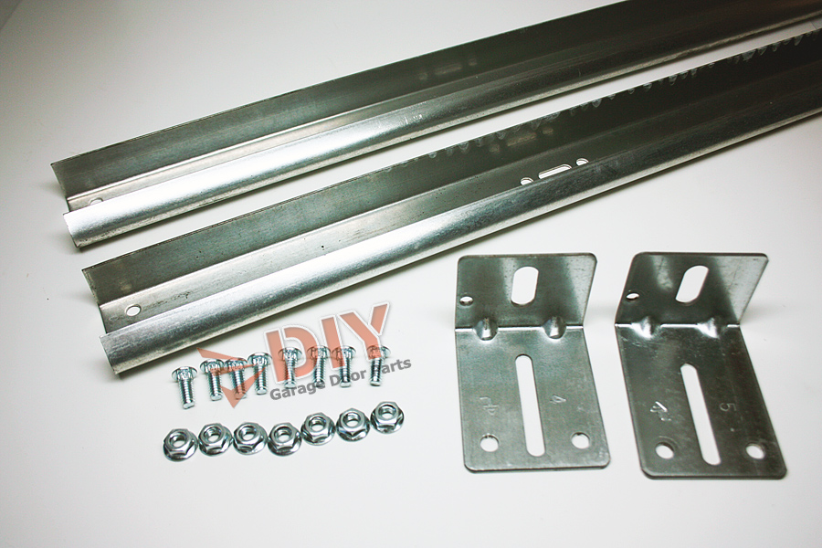garage door tracksDIY Garage Door Parts  7ft Vertical Track set 1 left and 1 right