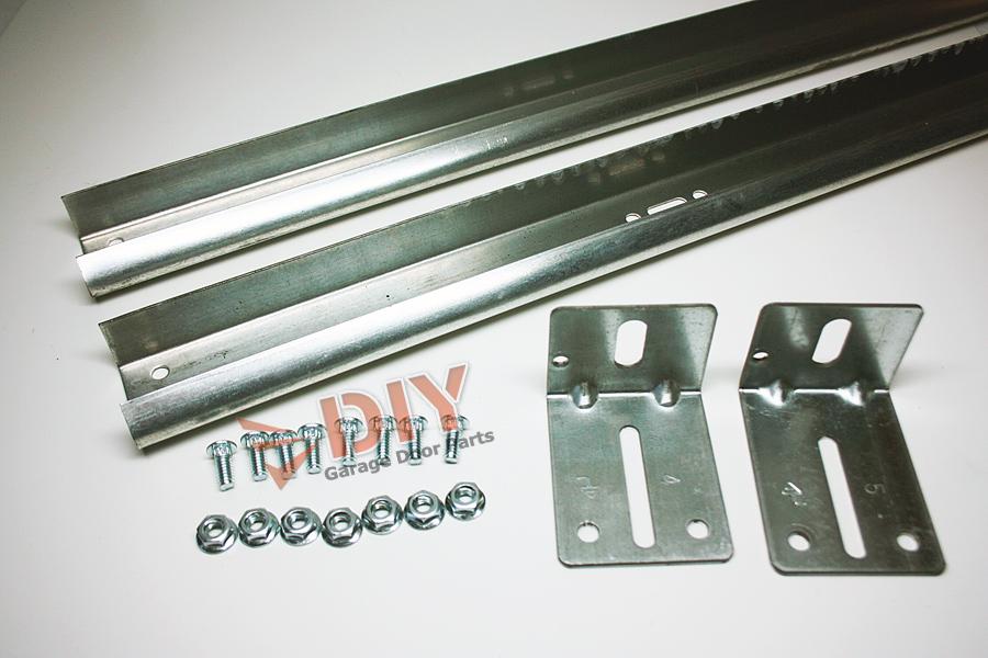 Diy Garage Door Parts 7ft Vertical Track Set 1 Left And