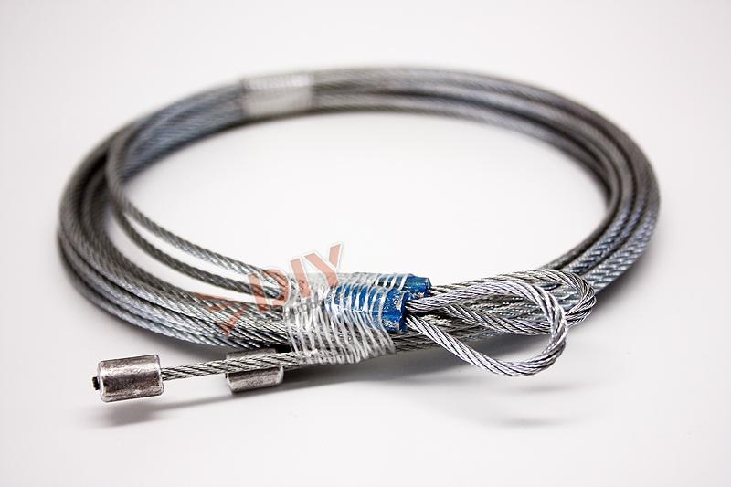 Diy garage door parts ft torsion cables quot quieter